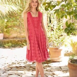 SUNDANCE | Coral Pink Romantic Gestures Dress Boho